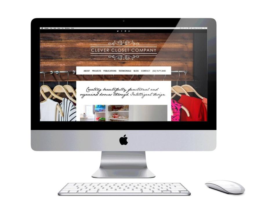 Clever closet company website redesign emma wright em designs
